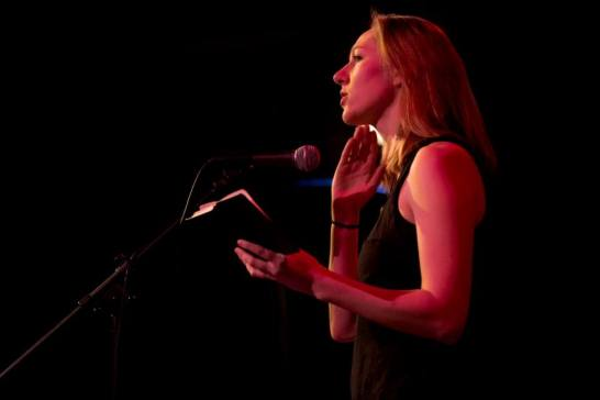Poetry at the Village Club Series, Bates College. Spring 2014. Photo Credit: Phyllis Graber Jensen.