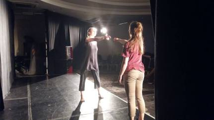 FLOW! Fringe, Aug 19th, Sweet Venues Grassmarket. Katie Ailes & Penny Chivas. Photo credit: Gemma Connell.