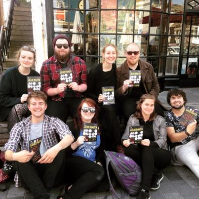 Touring with Loud Poets in Brighton, May 2015.