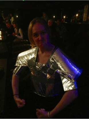 May included the most ridiculous slam I've ever done - the Rhyming Optional Game of Poems Slam, which I did as Brienne of Tarth! Main takeaway? Doing poems in body armour is really hard (even if that body armour is made of cereal boxes and tin foil). Thanks to Kevin P. Gilday - Writer & Spoken Word Artist for putting on an awesome night!