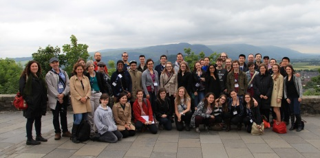 The US-UK Fulbright cohort for 2014-15 in Stirling for End-Cap.